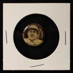 1910 Sweet Caporal Pins SM Hal Chase  Front Thumbnail