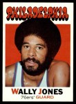 1971 Topps #42  Wally Jones   Front Thumbnail