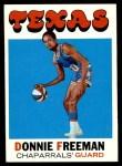 1971 Topps #220  Donnie Freeman  Front Thumbnail