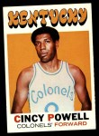1971 Topps #207  Cincy Powell  Front Thumbnail