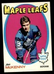 1971 Topps #43  Jim McKenny  Front Thumbnail