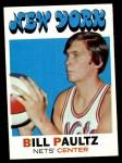 1971 Topps #156  Billy Paultz  Front Thumbnail
