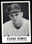 1960 Leaf #21  Pedro Ramos  Front Thumbnail