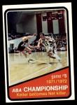 1972 Topps #245   ABA Championship Game #5 Front Thumbnail