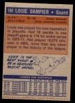 1972 Topps #198  Louie Dampier   Back Thumbnail