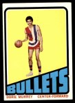 1972 Topps #61  Dorrie Murrey   Front Thumbnail