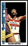 1976 Topps #120  Elvin Hayes  Front Thumbnail