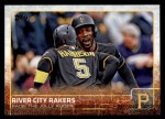 2015 Topps Update #15   -  Andrew McCutchen / Josh Harrison River City Rakers Front Thumbnail