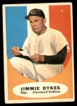 1961 Topps #222  Jimmy Dykes  Front Thumbnail