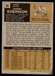 1971 Topps #88  Johnny Robinson  Back Thumbnail