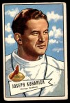 1952 Bowman Large #75  Joe Kuharich  Front Thumbnail