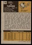 1971 Topps #136  Jim Turner  Back Thumbnail