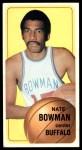 1970 Topps #138  Nate Bowman   Front Thumbnail