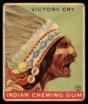 1933 Goudey Indian Gum #88   Victory Cry  Front Thumbnail