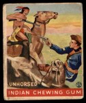 1933 Goudey Indian Gum #190   Unhorsed  Front Thumbnail