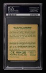 1933 World Wide Gum Ice Kings #32  Art Chapman  Back Thumbnail
