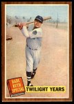1962 Topps #141 NRM  -  Babe Ruth Twilight Years Front Thumbnail