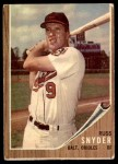1962 Topps #64  Russ Snyder  Front Thumbnail