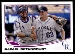 2013 Topps Update #42  Rafael Betancourt  Front Thumbnail