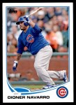 2013 Topps Update #184  Dioner Navarro  Front Thumbnail