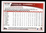 2013 Topps Update #169  Ezequiel Carrera  Back Thumbnail