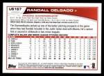 2013 Topps Update #167  Randall Delgado  Back Thumbnail