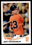 2013 Topps Update #153  Jeff Francoeur  Front Thumbnail