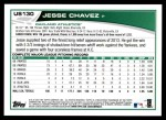 2013 Topps Update #130  Jesse Chavez  Back Thumbnail