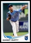 2013 Topps Update #122  Danny Duffy  Front Thumbnail