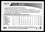 2013 Topps Update #312  Nate Jones  Back Thumbnail