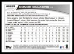 2013 Topps Update #283  Conor Gillaspie  Back Thumbnail