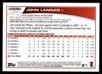 2013 Topps Update #280  John Lannan  Back Thumbnail