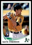 2013 Topps Update #264  Nate Freiman  Front Thumbnail