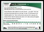 2013 Topps Update #264  Nate Freiman  Back Thumbnail