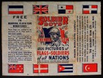 1930 Goudey   s  Soldier Boys Wax Wrapper Front Thumbnail
