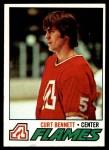 1977 Topps #97  Curt Bennett  Front Thumbnail