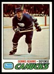 1977 Topps #175  Dennis Kearns  Front Thumbnail