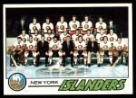 1977 Topps #81   Islanders Team Checklist Front Thumbnail