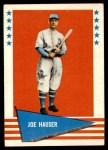 1961 Fleer #113  Joe Hauser  Front Thumbnail