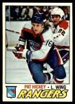 1977 Topps #221  Pat Hickey  Front Thumbnail