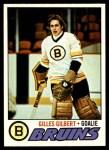 1977 Topps #125  Gilles Gilbert  Front Thumbnail
