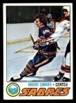 1977 Topps #118  Andre Savard  Front Thumbnail