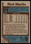 1977 Topps #180  Richard Martin  Back Thumbnail