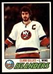 1977 Topps #250  Clark Gillies  Front Thumbnail