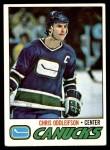 1977 Topps #209  Chris Oddleifson  Front Thumbnail
