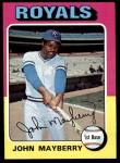 1975 Topps #95  John Mayberry  Front Thumbnail