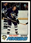 1977 Topps #137  Don Awrey  Front Thumbnail