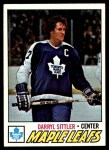 1977 Topps #38  Darryl Sittler  Front Thumbnail