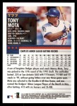 2000 Topps Traded #77 T Tony Mota  Back Thumbnail