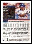 2000 Topps Traded #77 T Tony Mota  Back Thumbnail
